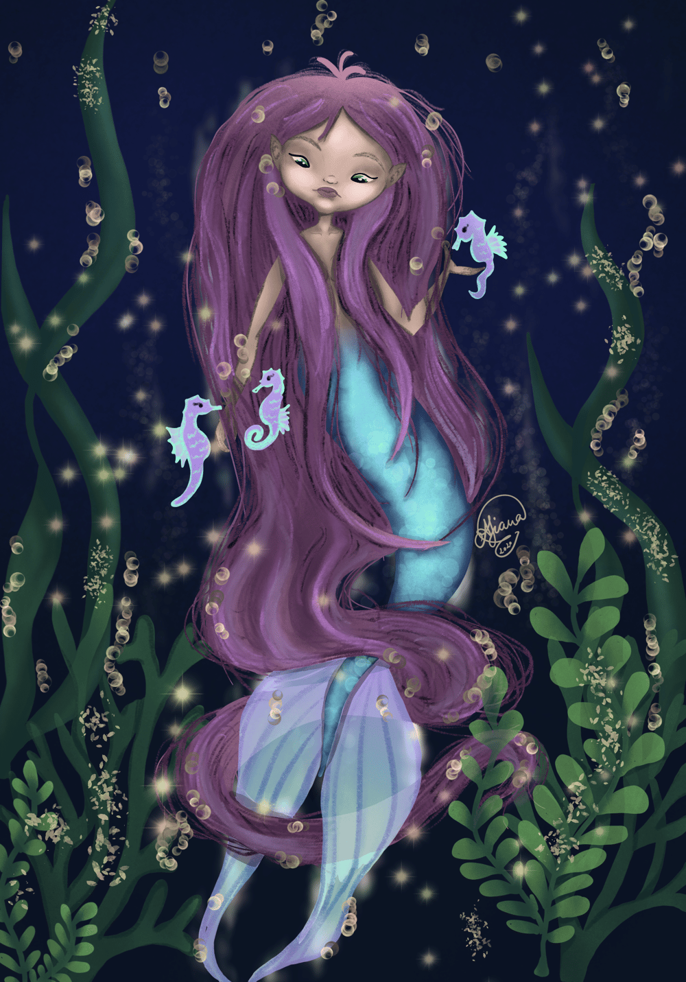 Little mermaid - image 1 - student project