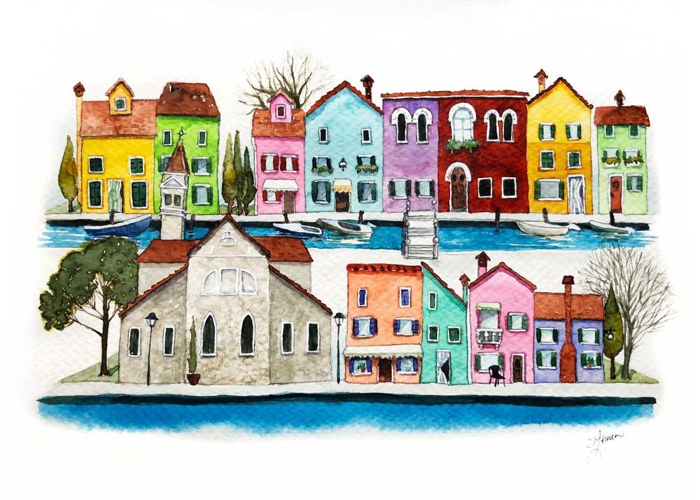 Burano, Italy - image 3 - student project