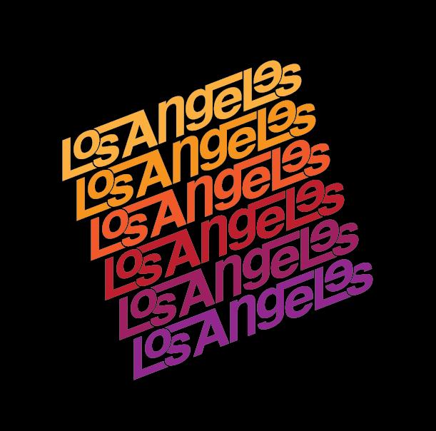 LA Wordmark - image 3 - student project
