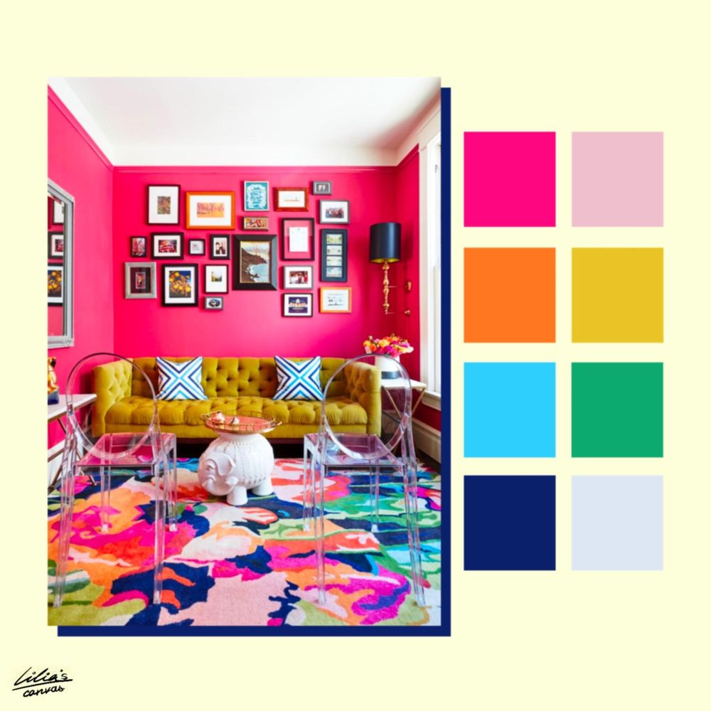 Color Pallettes Inspiration - image 10 - student project