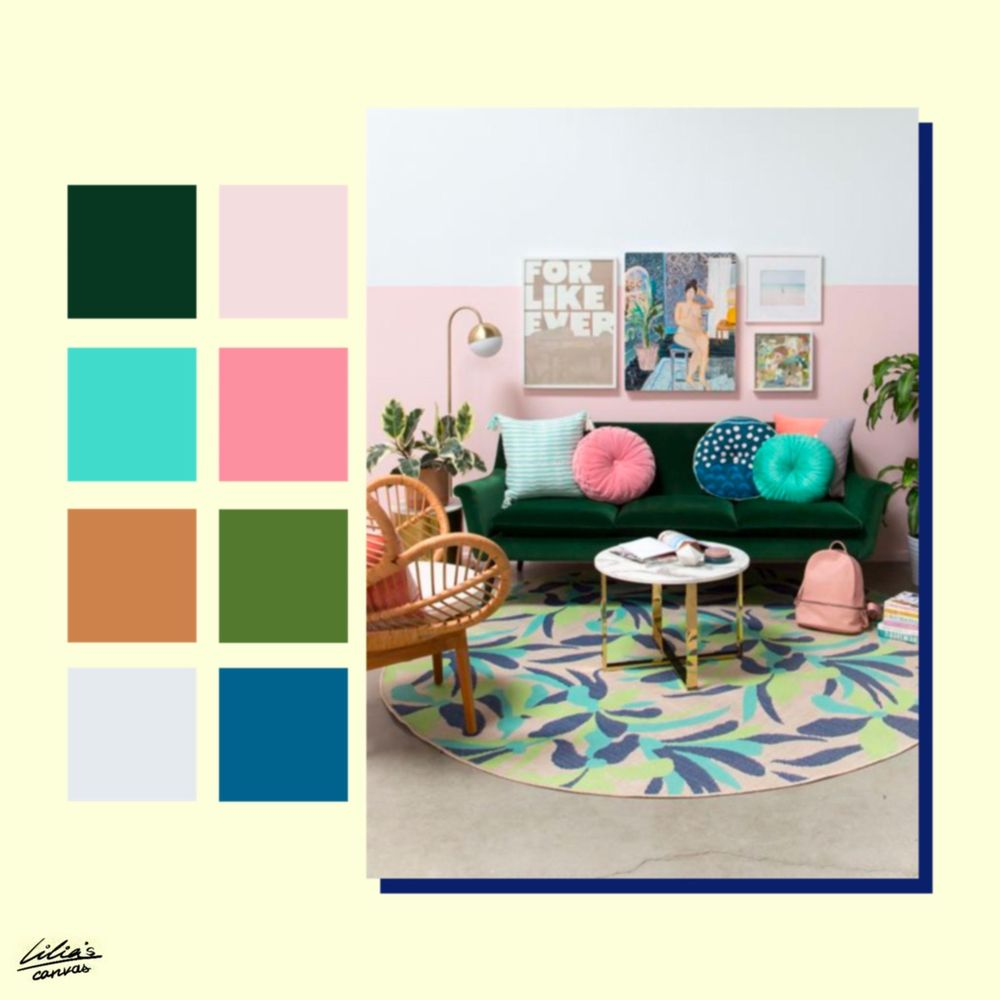 Color Pallettes Inspiration - image 9 - student project