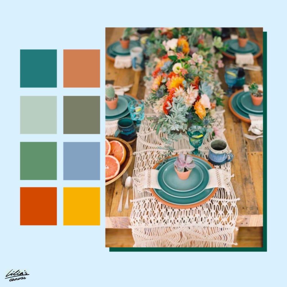 Color Pallettes Inspiration - image 3 - student project
