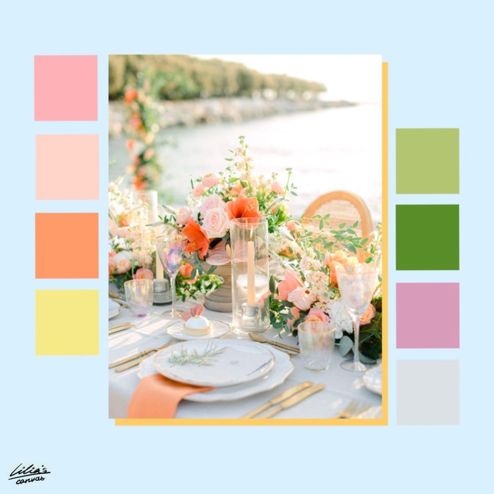 Color Pallettes Inspiration - image 2 - student project