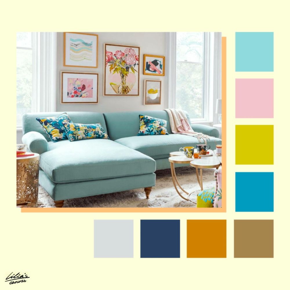 Color Pallettes Inspiration - image 12 - student project