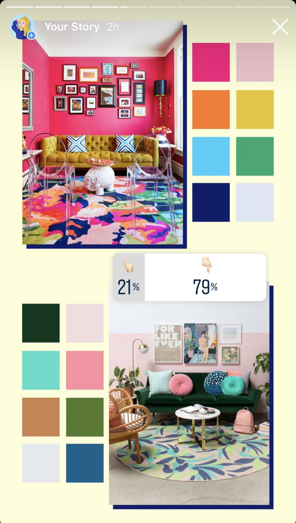 Color Pallettes Inspiration - image 15 - student project