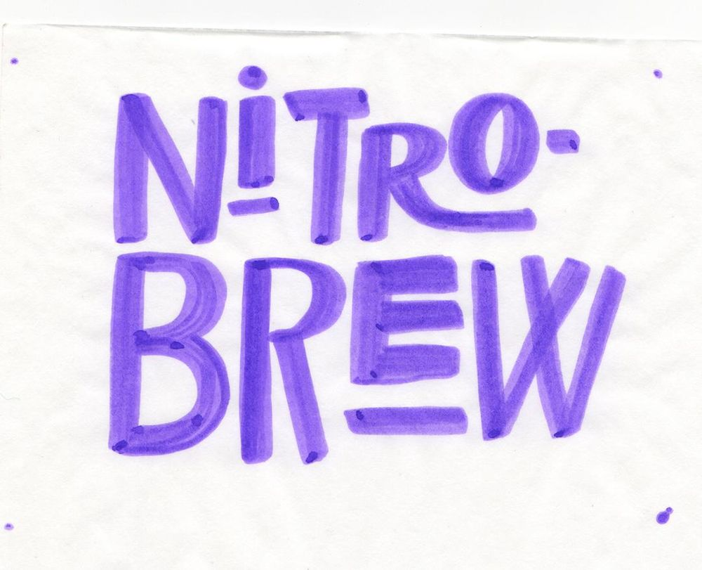 Nitro-Brew Coffee Gif! - image 1 - student project