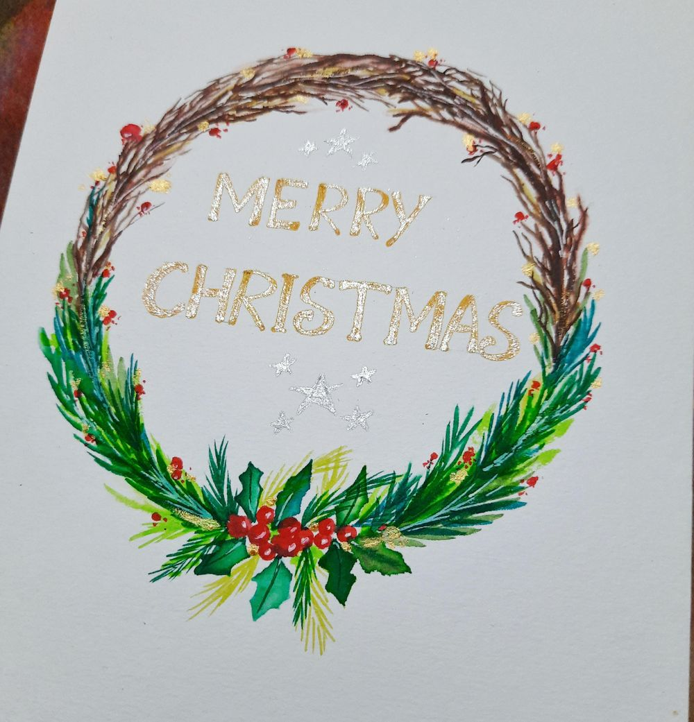 Christmas Wreath - image 1 - student project