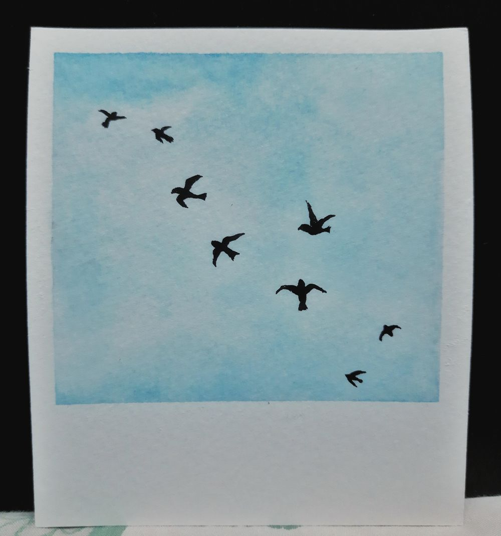Simple Skies & Silhouettes - image 1 - student project