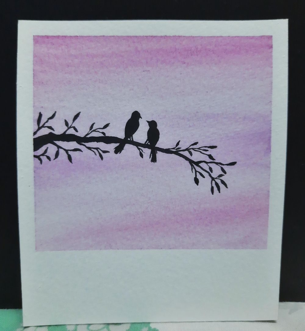 Simple Skies & Silhouettes - image 2 - student project