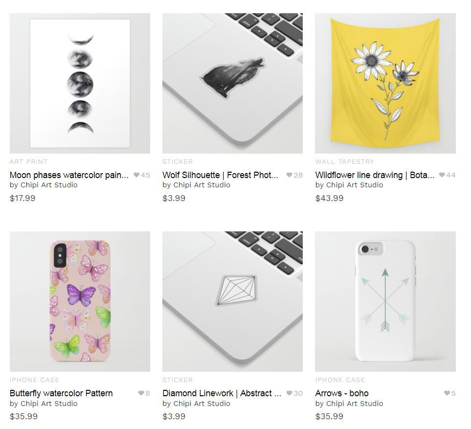 Chipi Art Prints - image 3 - student project