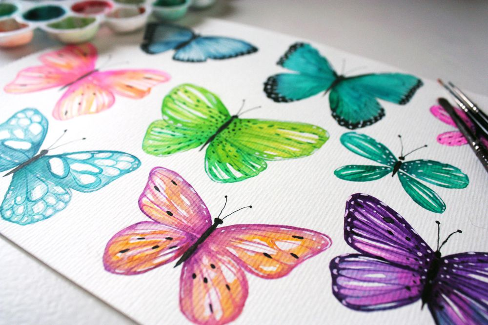 Playful Butterflies - image 3 - student project