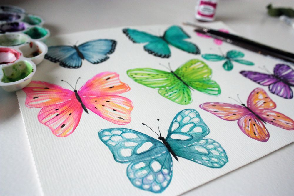 Playful Butterflies - image 1 - student project