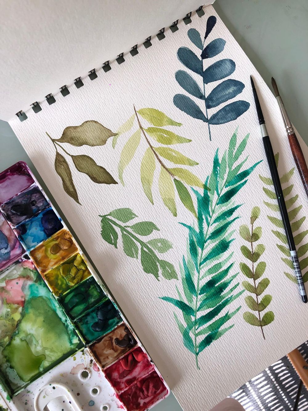 Pretty leaves - image 1 - student project