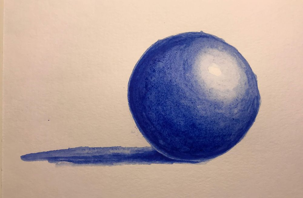 Washes + 3D Sphere - image 2 - student project