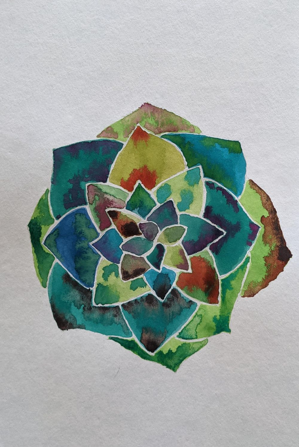 Botanical watercolors - image 4 - student project