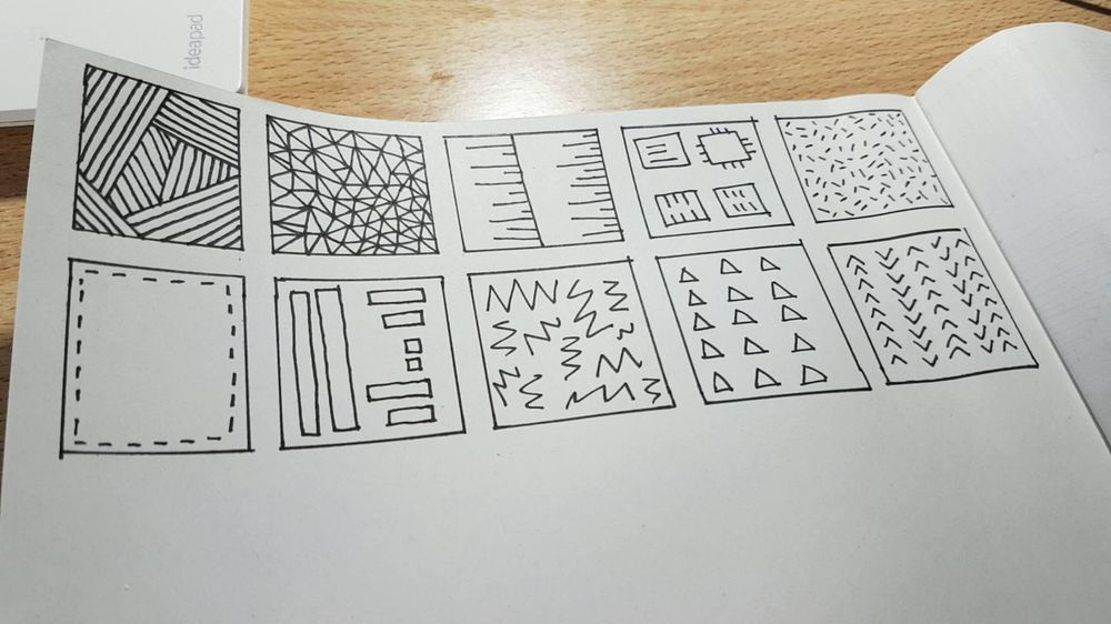 Doodling experiments - image 1 - student project