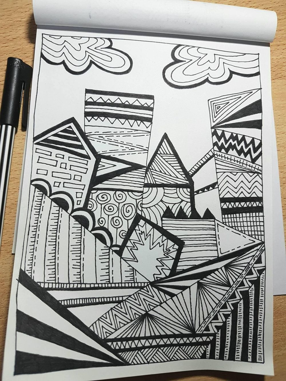 Doodling experiments - image 5 - student project