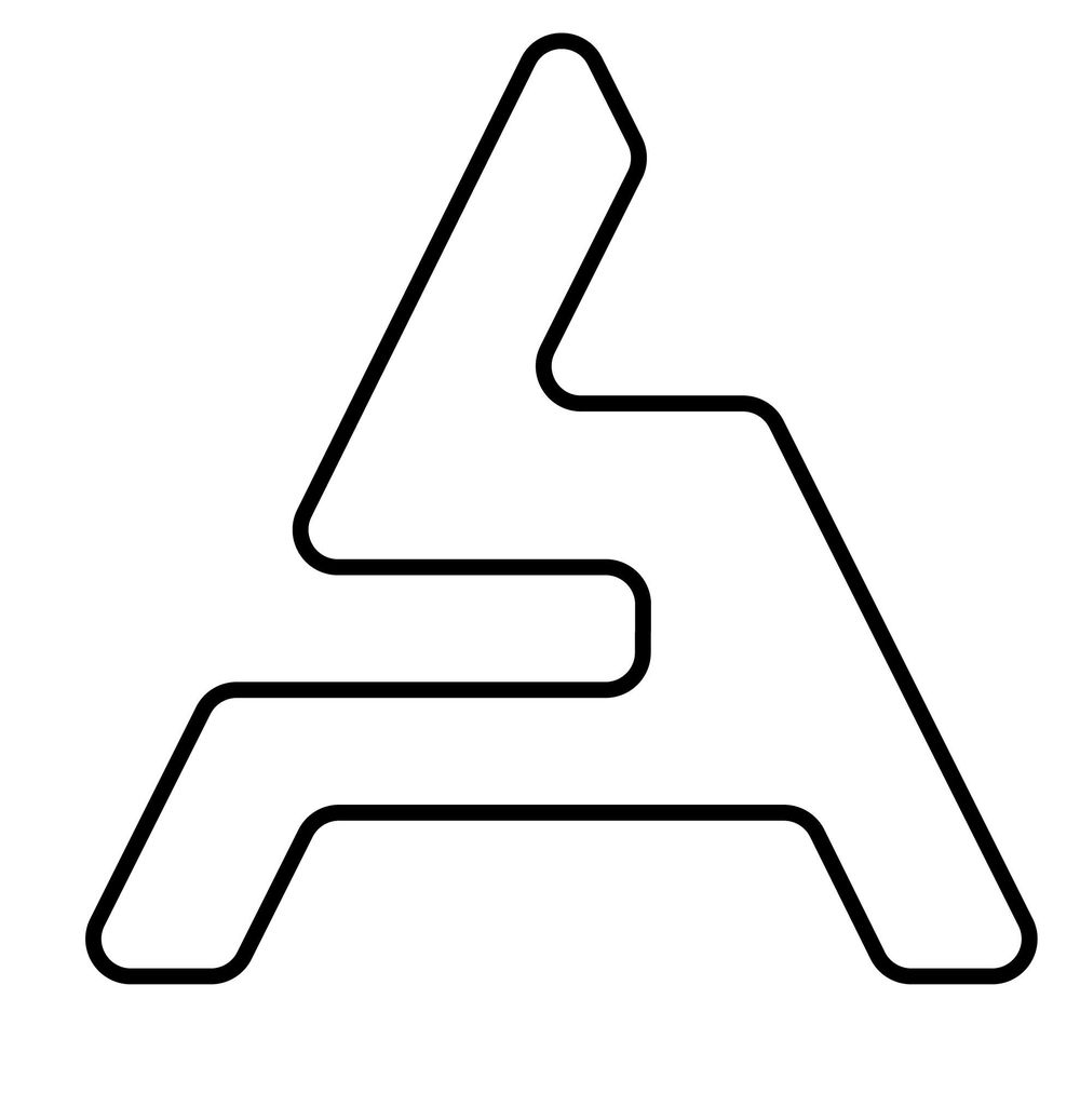 symbols derived from letter A - image 4 - student project