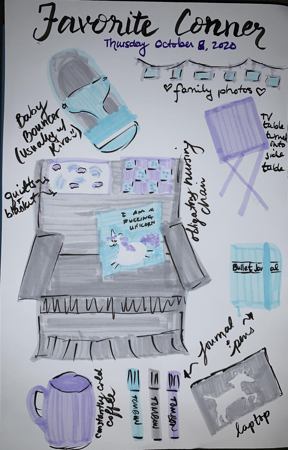 Illustrated Journaling journey - image 4 - student project