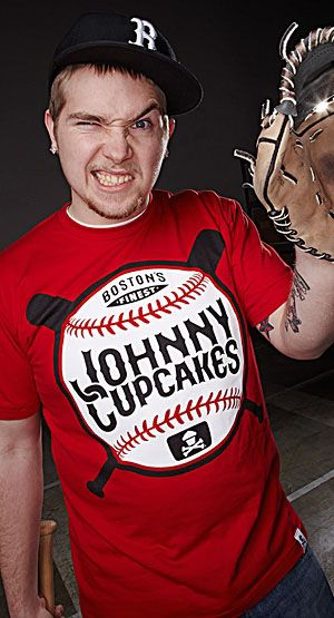 Justin McLaughlin's take on Johnny Cupcakes. - image 1 - student project