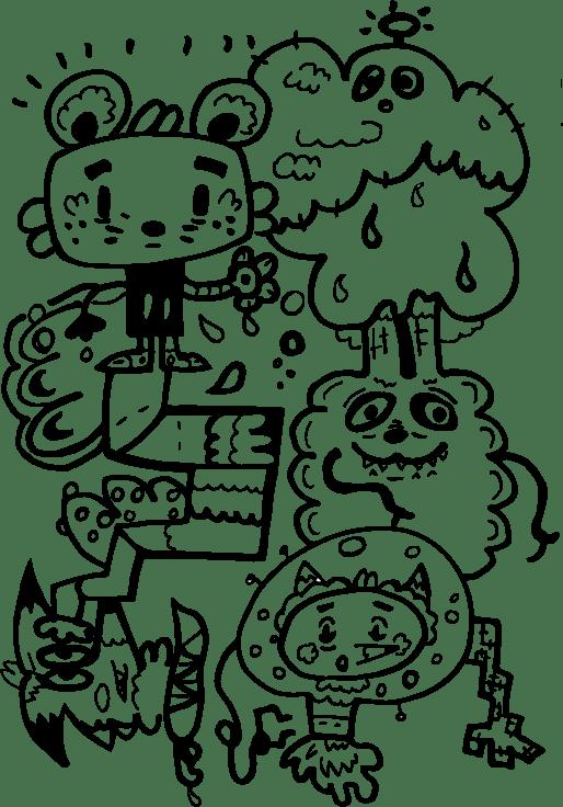 Digital doodle - image 2 - student project