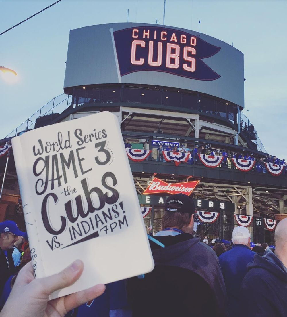 Lettering for the Cubs! - image 4 - student project