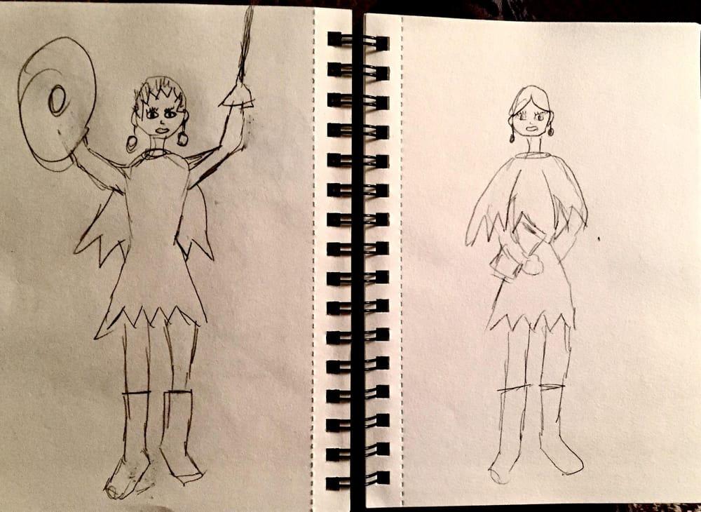 Princesses Shari and Tamu - image 1 - student project