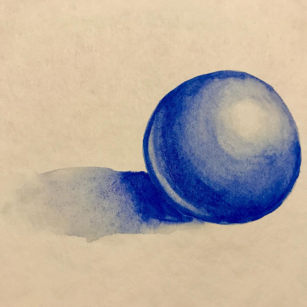 MiniProjects - 3D Sphere, Washes - image 1 - student project
