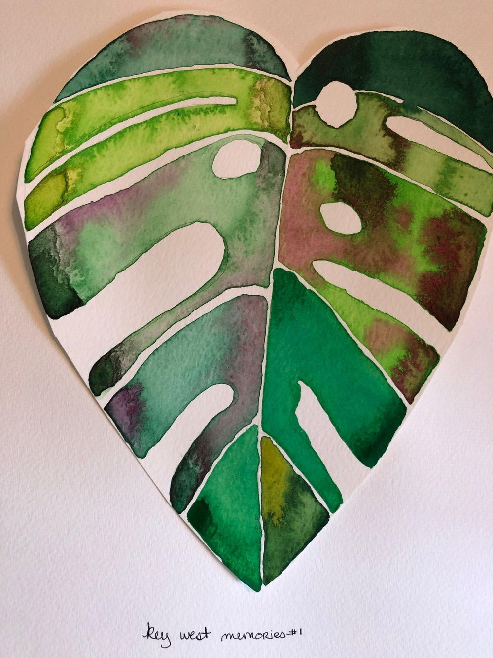 Modern Botanical Watercolors - What a Blast! - image 1 - student project