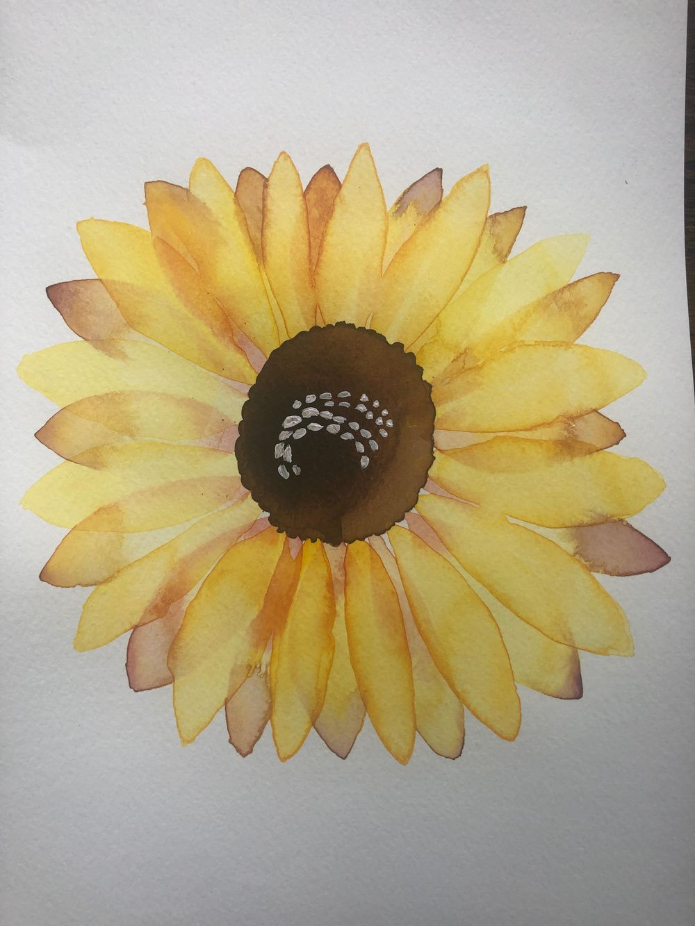 Modern Botanical Watercolors - What a Blast! - image 4 - student project