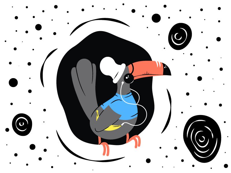 Hipster Toucan - image 5 - student project