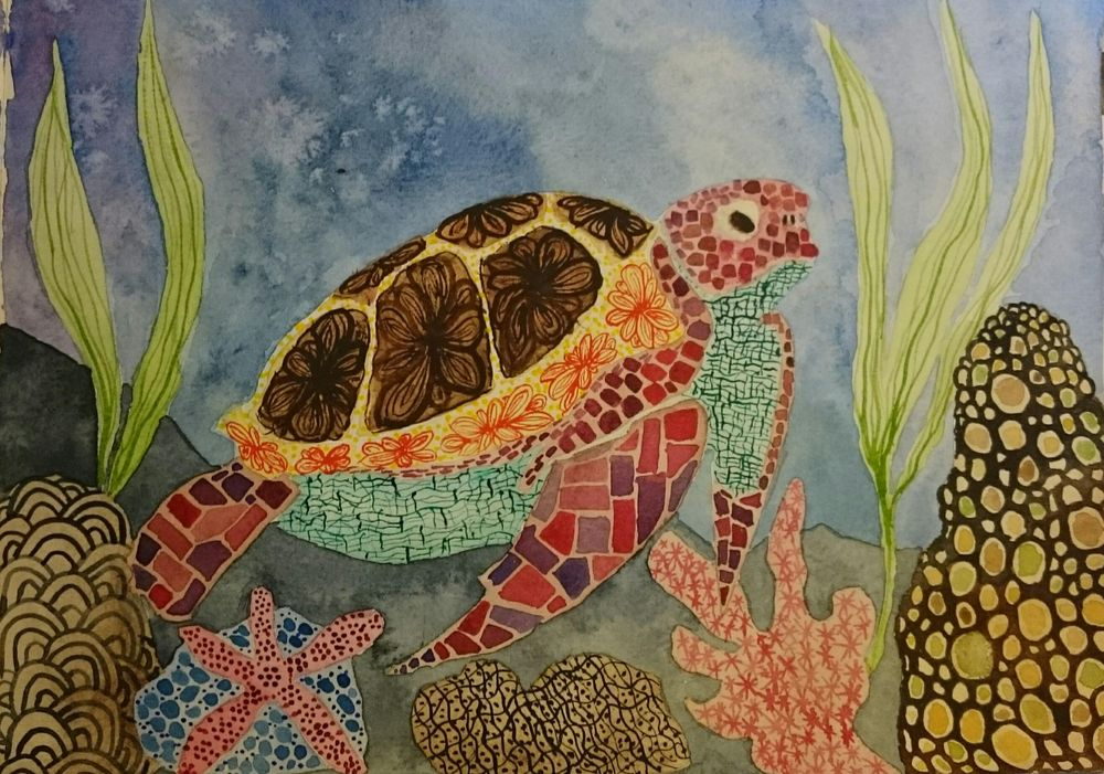 Sea turtle - image 3 - student project