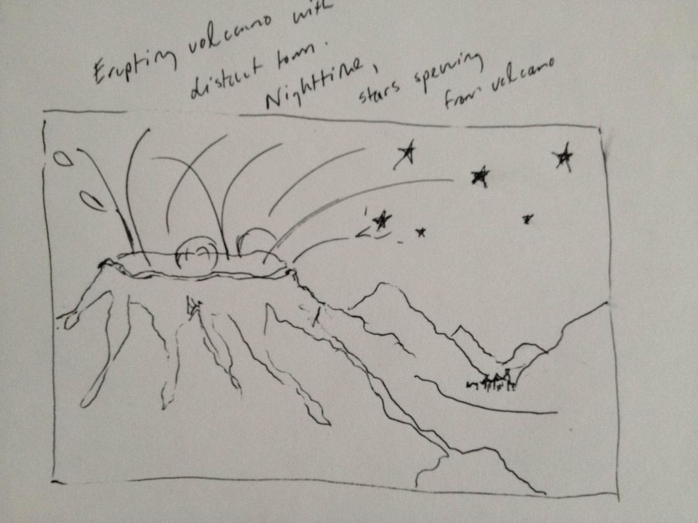 volcano! (maybe?) latecomer ideas - image 1 - student project