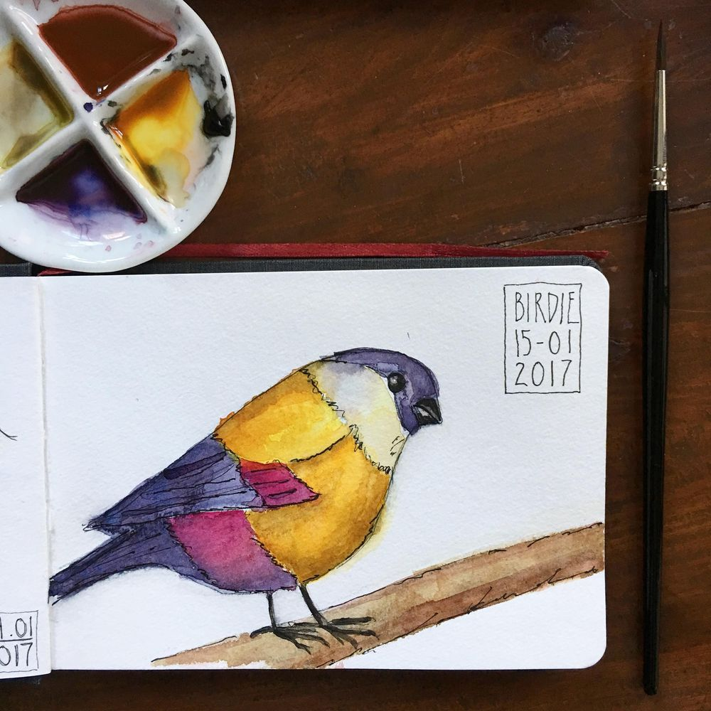 New sketchbook and 365 challenge! - image 5 - student project