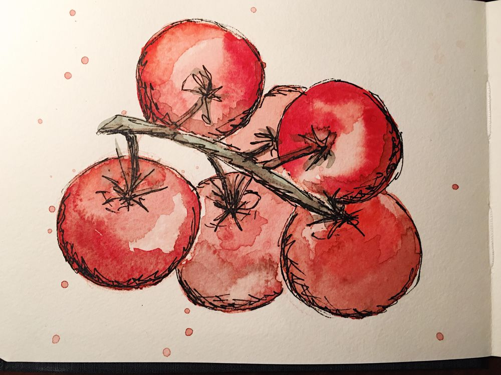 New sketchbook and 365 challenge! - image 1 - student project