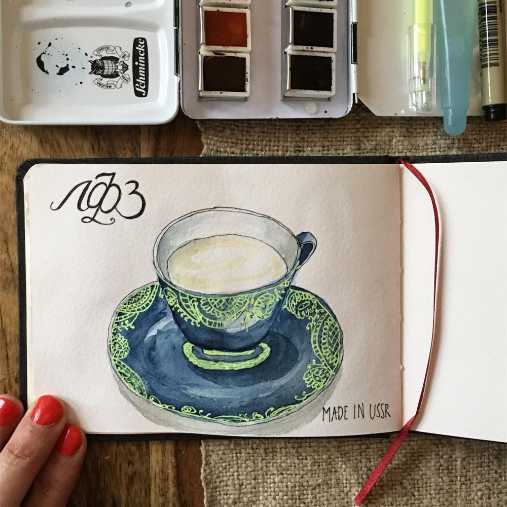 New sketchbook and 365 challenge! - image 8 - student project