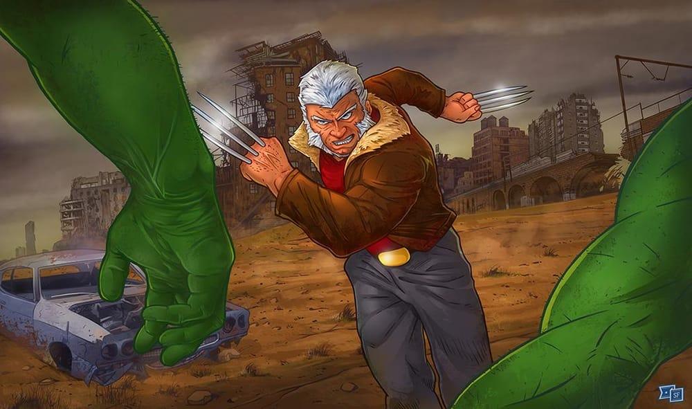 Old Man Logan - image 1 - student project
