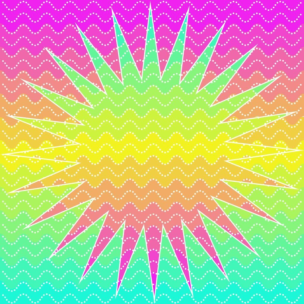 ombre background - image 1 - student project