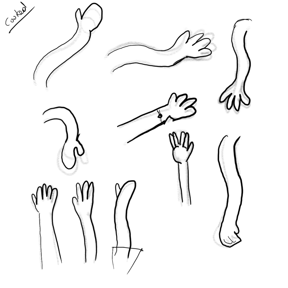 Drawing exercises - image 4 - student project