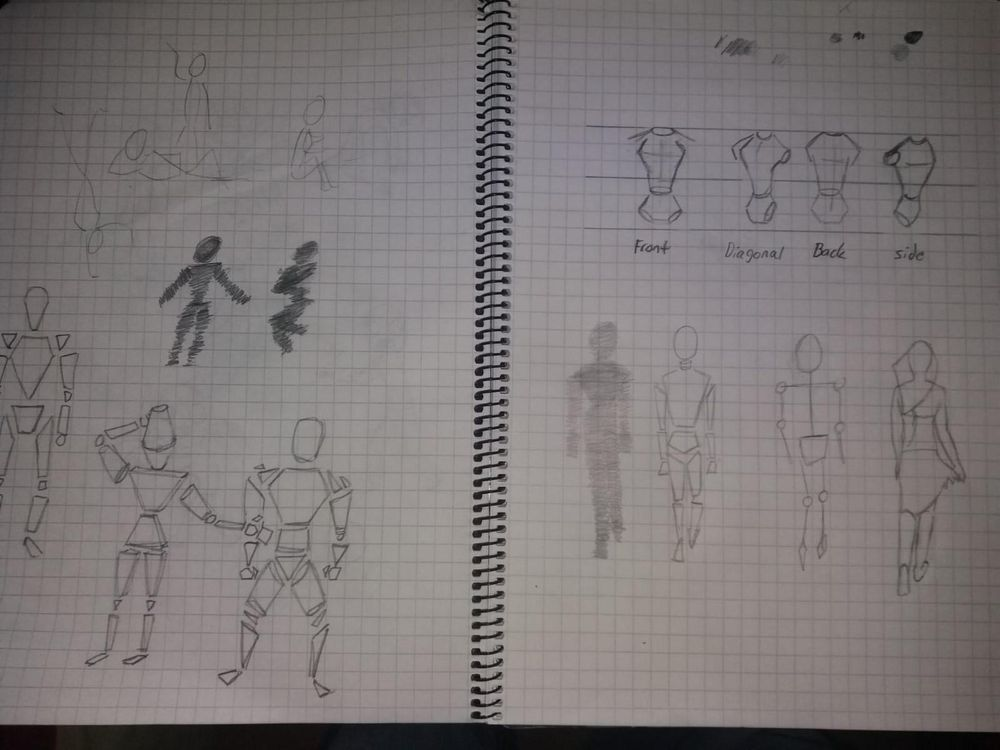 Figure sketching - image 1 - student project