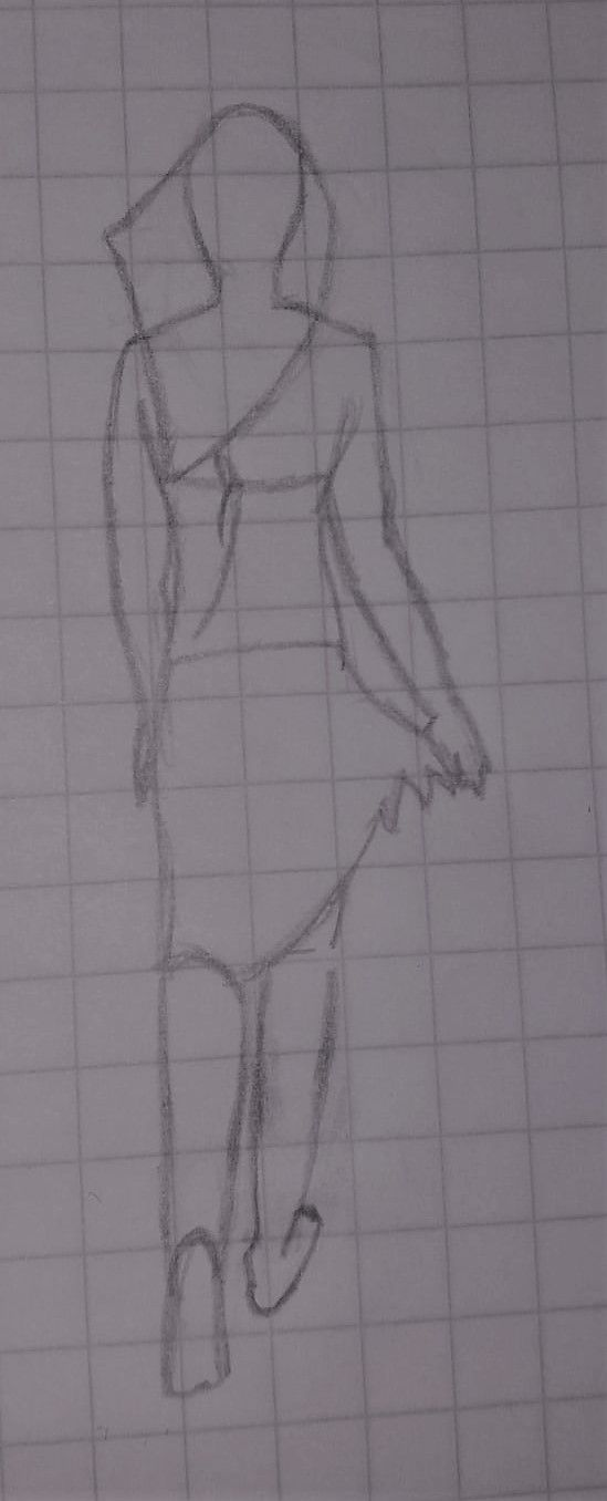 Figure sketching - image 3 - student project