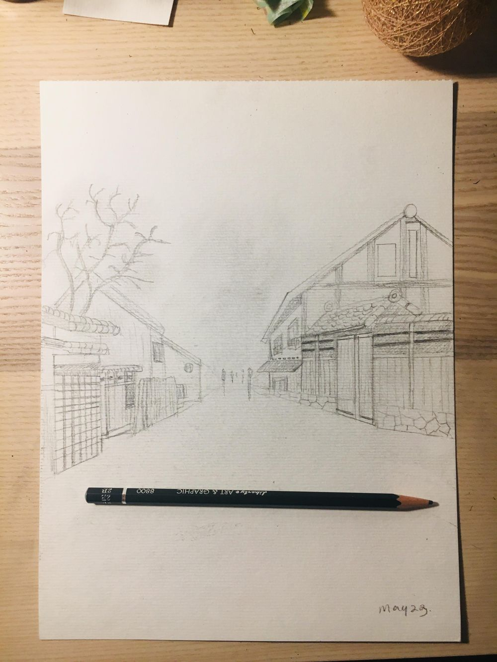 Urban Sketch - 1st attempt - image 1 - student project