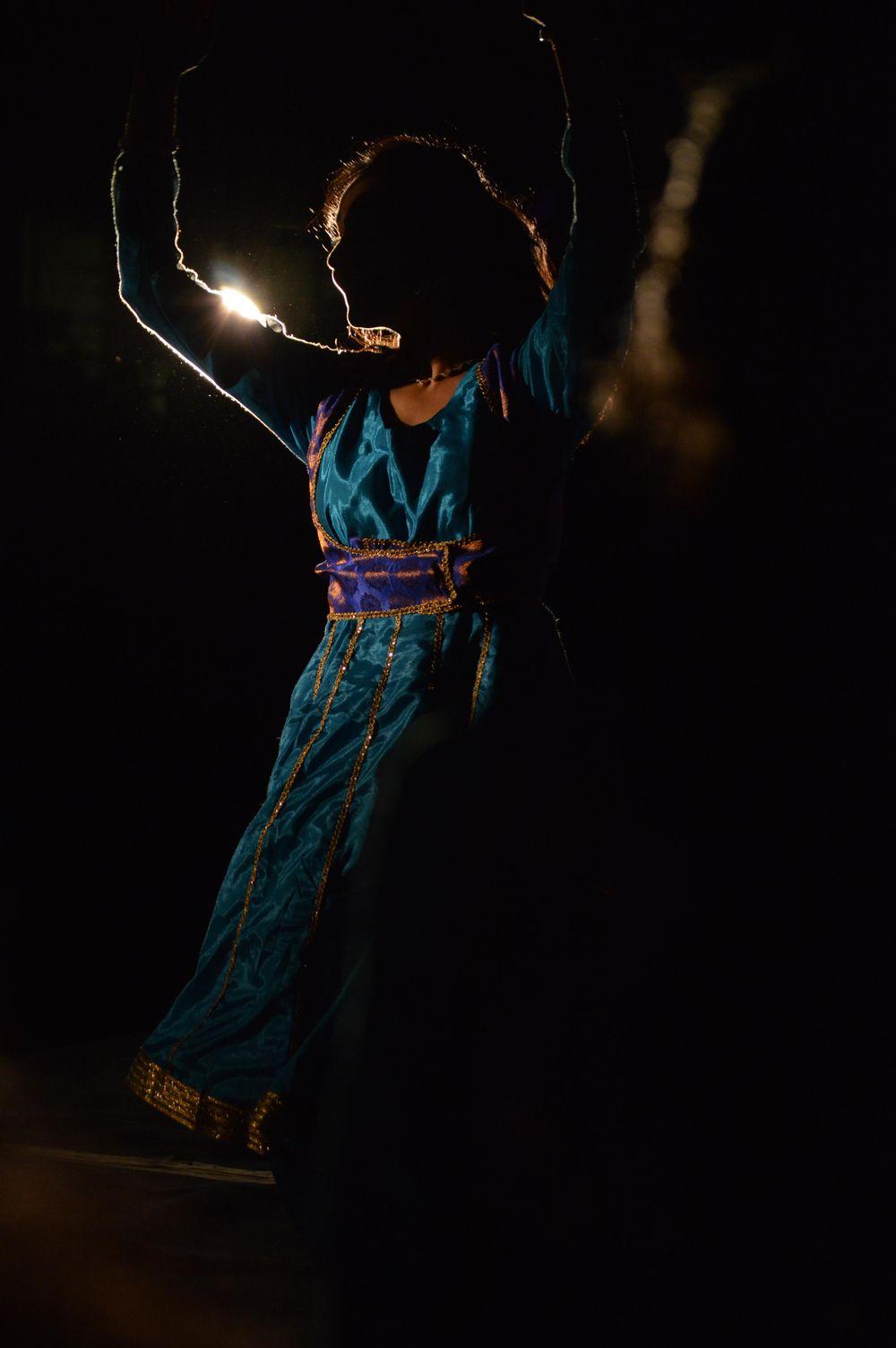Dancer celebrating Diwali - image 2 - student project