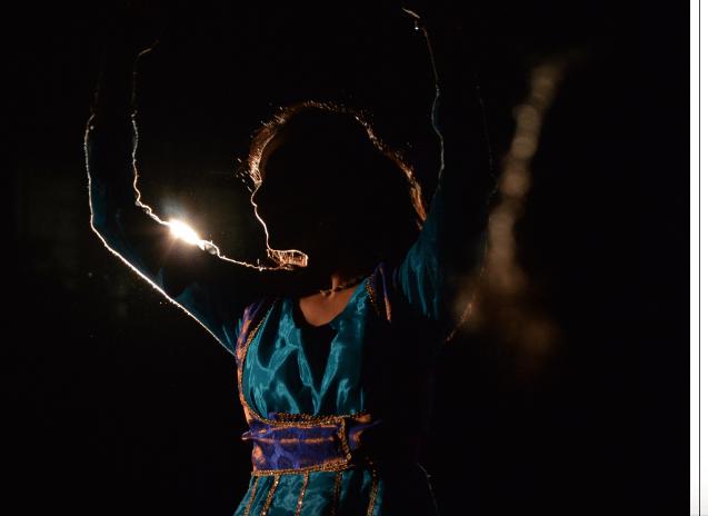 Dancer celebrating Diwali - image 1 - student project
