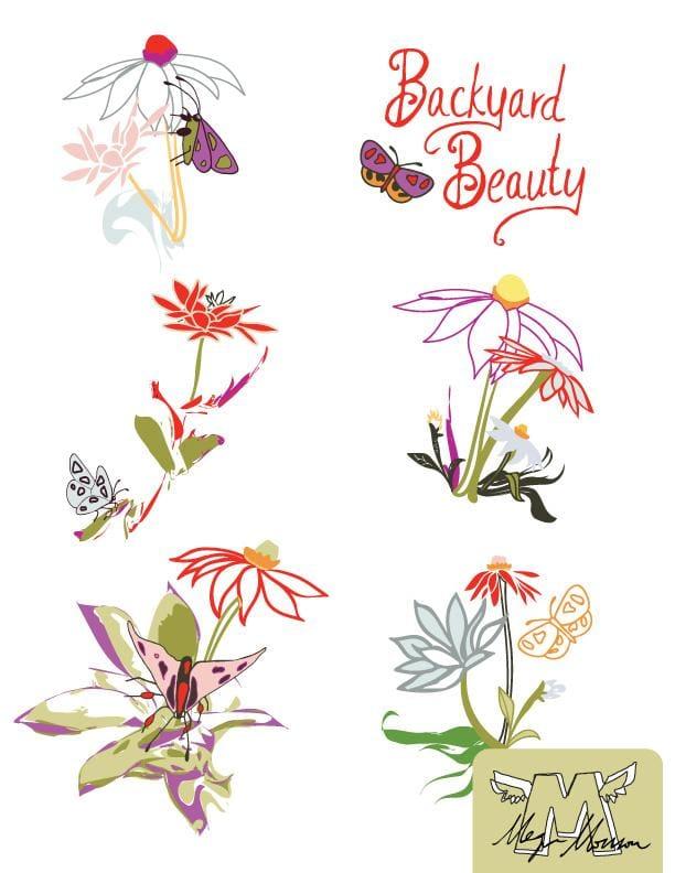 Backyard Beauty Pattarn Project - image 3 - student project