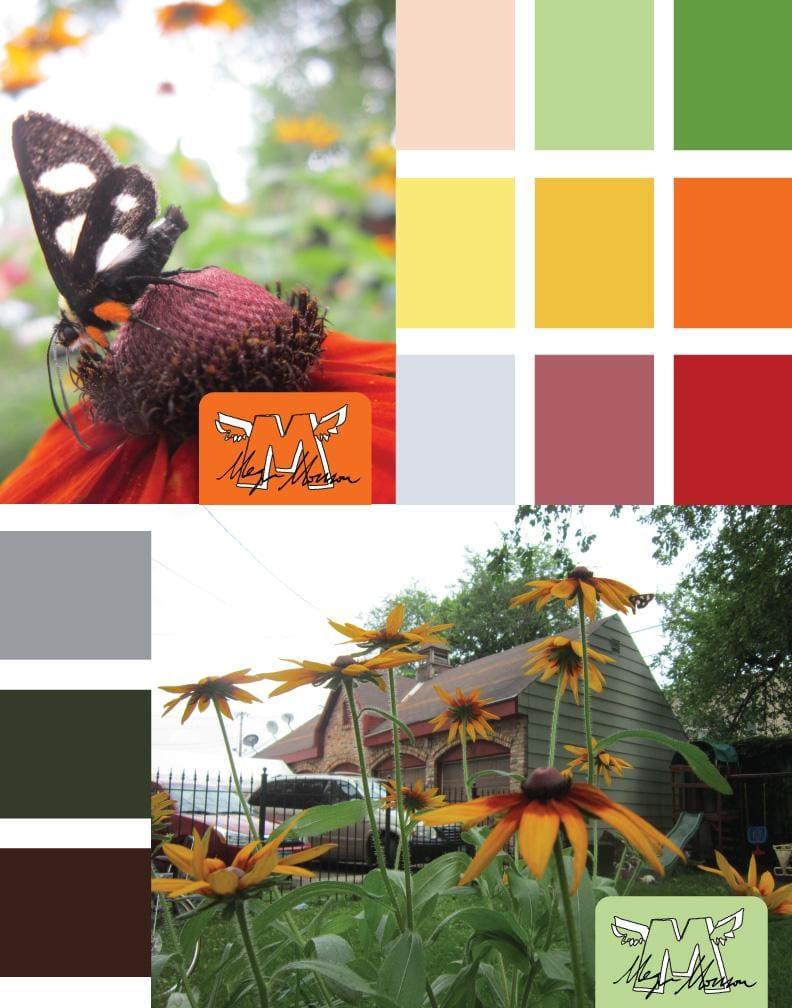 Backyard Beauty Pattarn Project - image 2 - student project