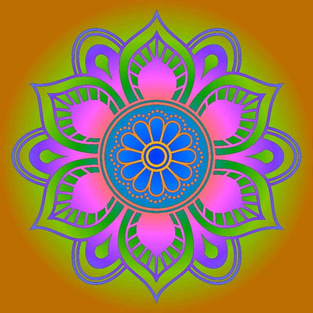 Mandala Explorations - image 5 - student project