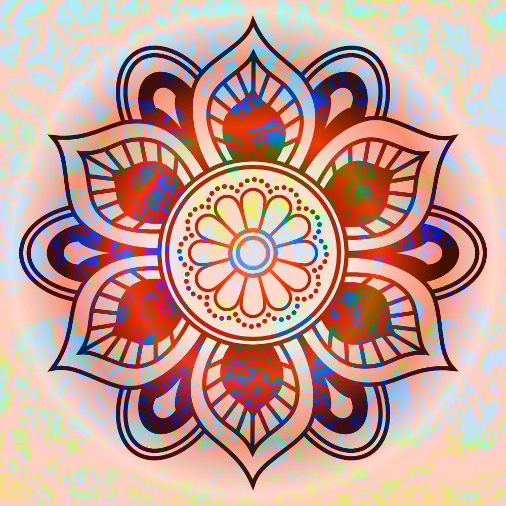 Mandala Explorations - image 8 - student project