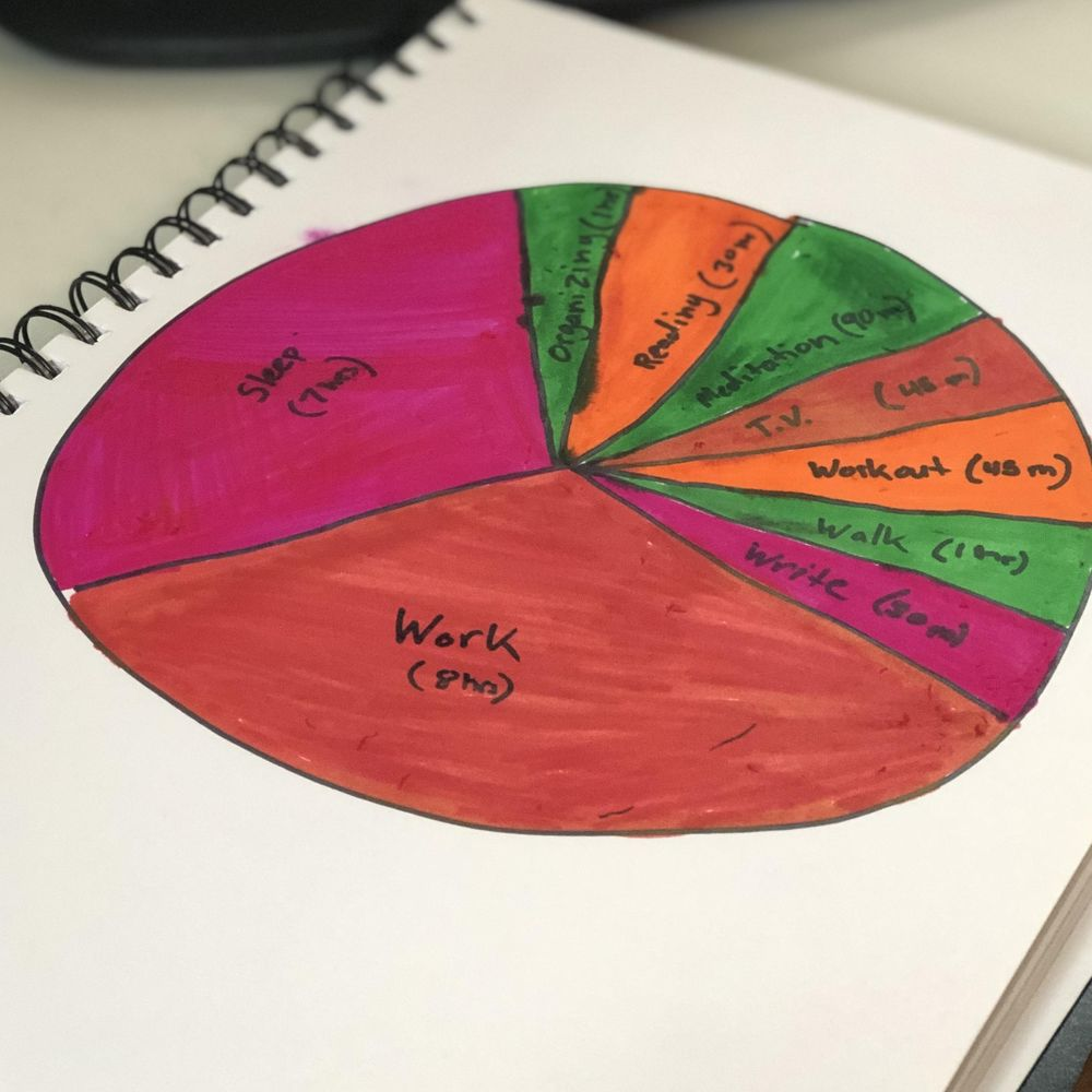 Daily Pie Chart - image 1 - student project