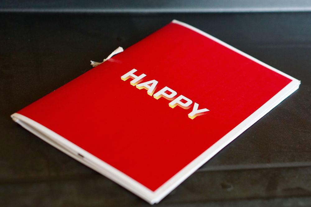 The Happy Zine - image 1 - student project